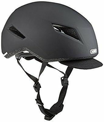 Casque pour Vélo Abus - Noir, Adulte 51-55 cm