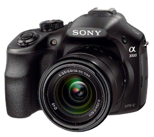 Reflex Sony Alpha 3000 ILCE-3000K + Objectif 18-55 mm
