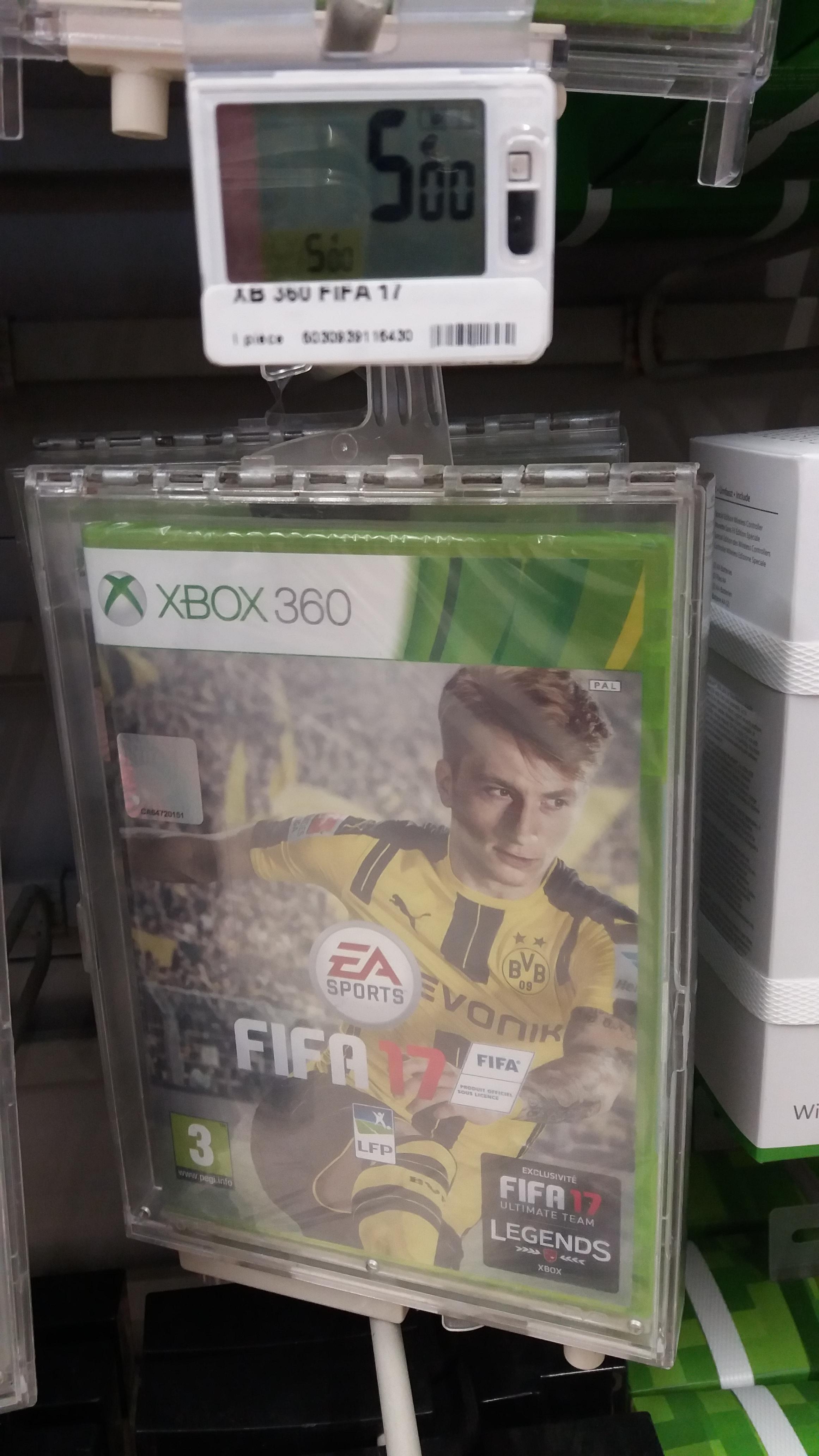 Fifa 17 sur Xbox 360 - Evreux (27)