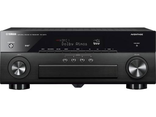 Ampli Home-Cinéma 7.2 Yamaha RX-A870 - Noir