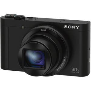 Appareil Photo Numérique Sony DSC-WX500B - Capteur CMOS Exmor R, 18.2 Mpix, Zoom Optique 30x, Stabilisation 5 axes - Noir