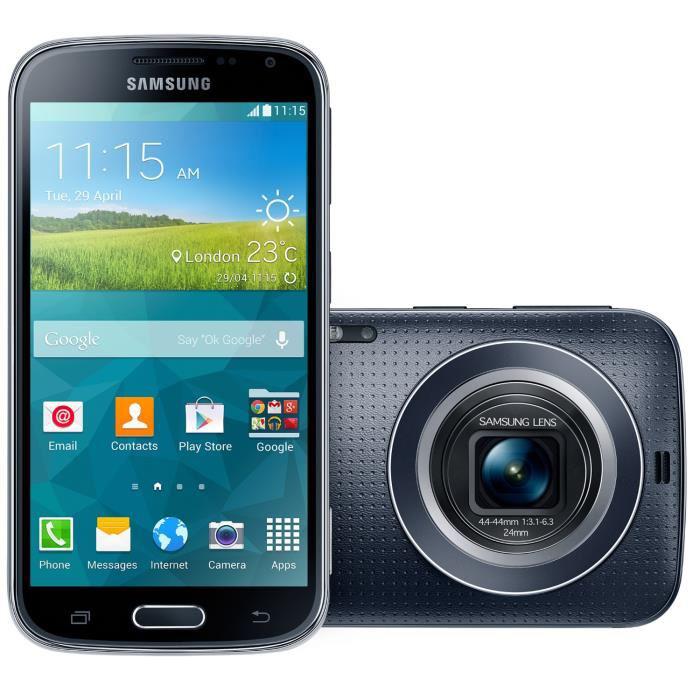 "Smartphone 4.8"" Samsung Galaxy K Zoom Noir"