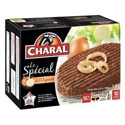 Boite de Hachés à l'oignon Charal - 10 x 100g (Via CN + Quoty)