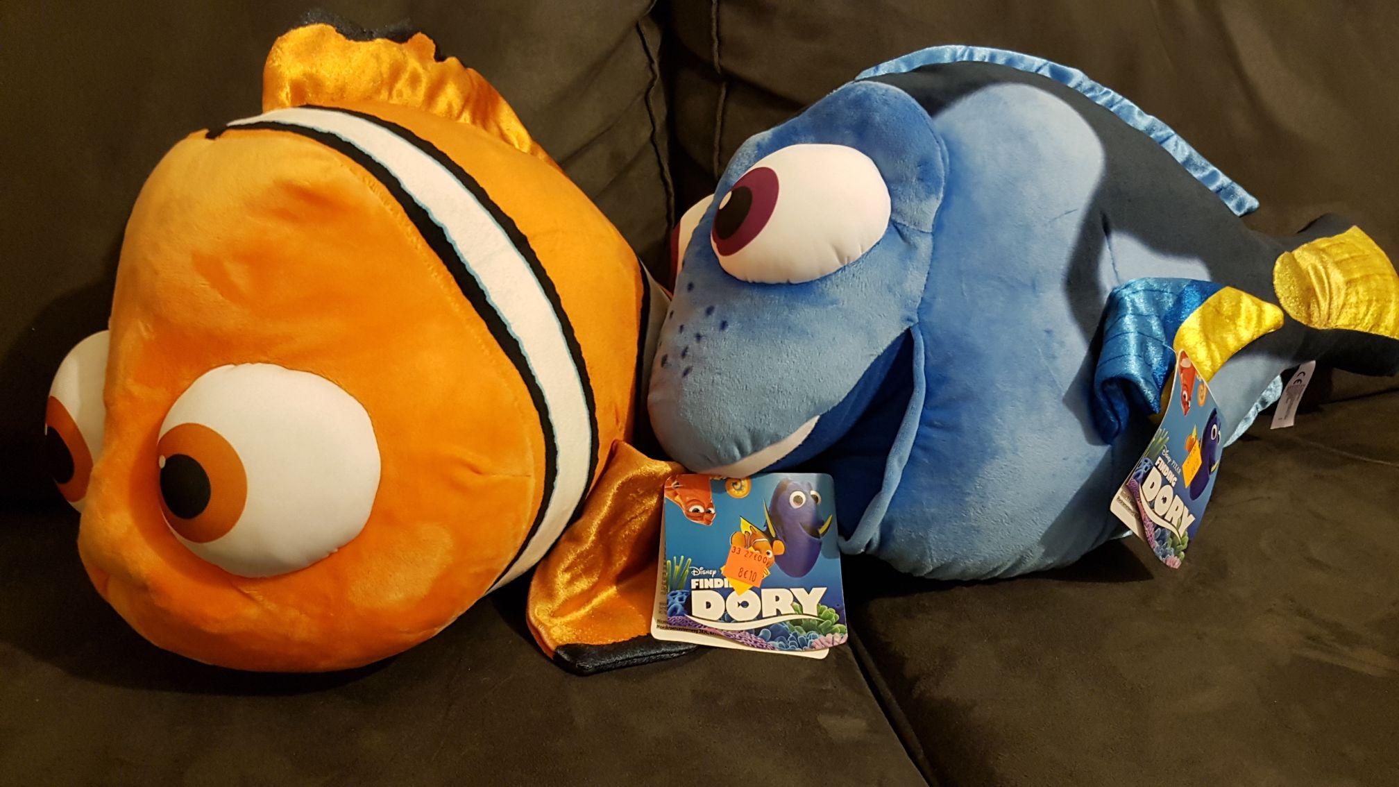 Peluche Disney Le monde de Dory - Nemo ou Dory 50 cm - Montesson (78)