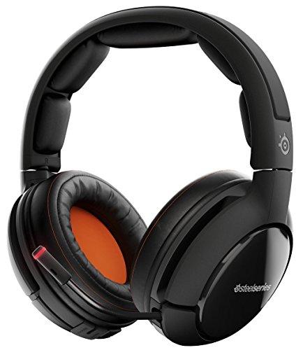 Casque Audio Sans fil SteelSeries Siberia 800 - Noir avec Son Dolby surround 7.1