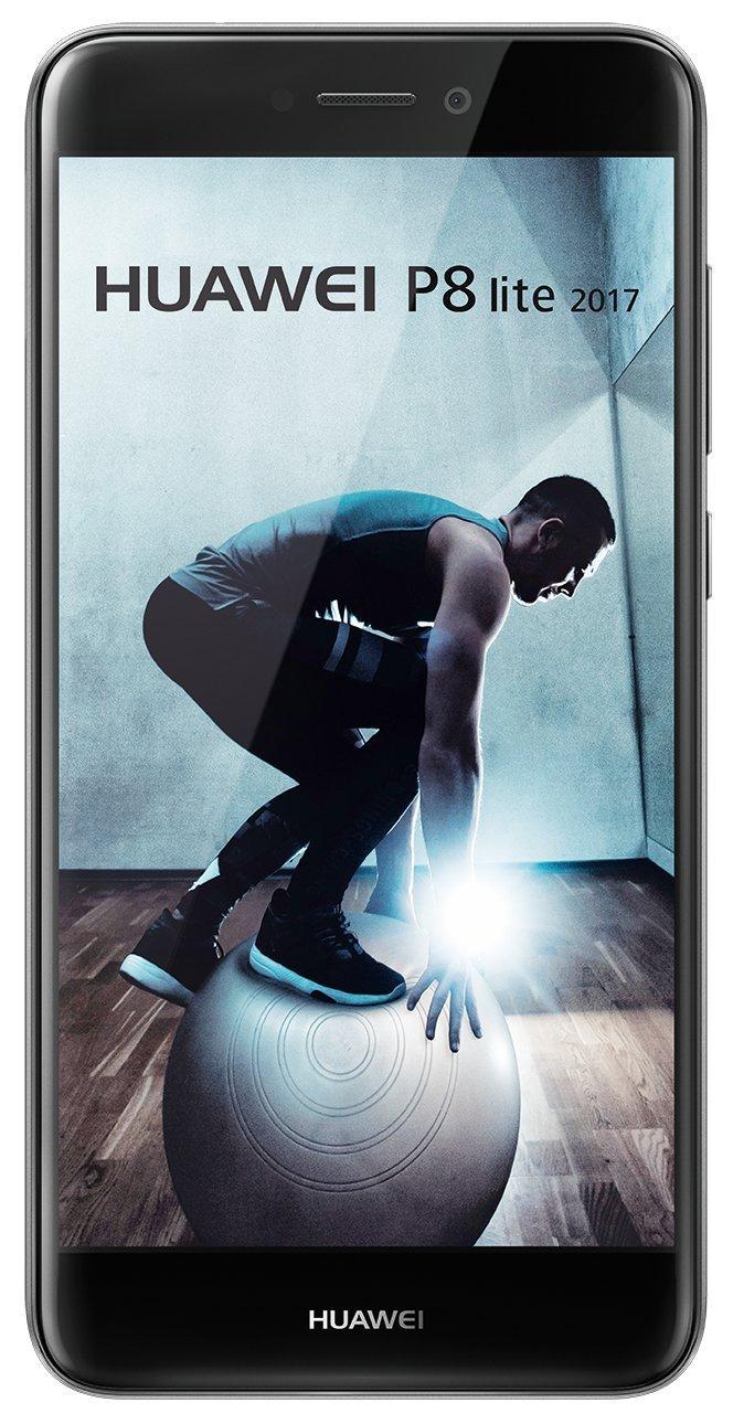 "Smartphone 5.2"" Huawei P8 Lite 2017 Noir - Kirin 655, 3 Go de RAM, 16 Go, Android 7.0"