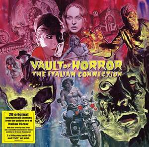 Double Vinyle + CD Vault Of Horror - The Italian Connection