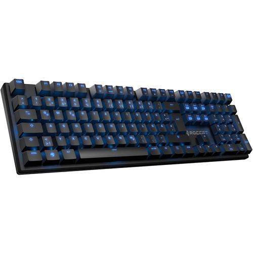 Clavier Gamer mécaniqueRoccat Suora (TTC Brown) - Rétroéclairage bleu (AZERTY)