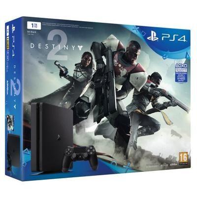 Console PS4 Slim - 1To + Destiny 2 + Crash bandicoot N. Sane Trilogy (Dématérialisé)