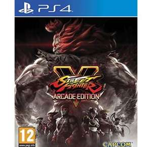 Street Fighter V Arcade Edition sur PS4