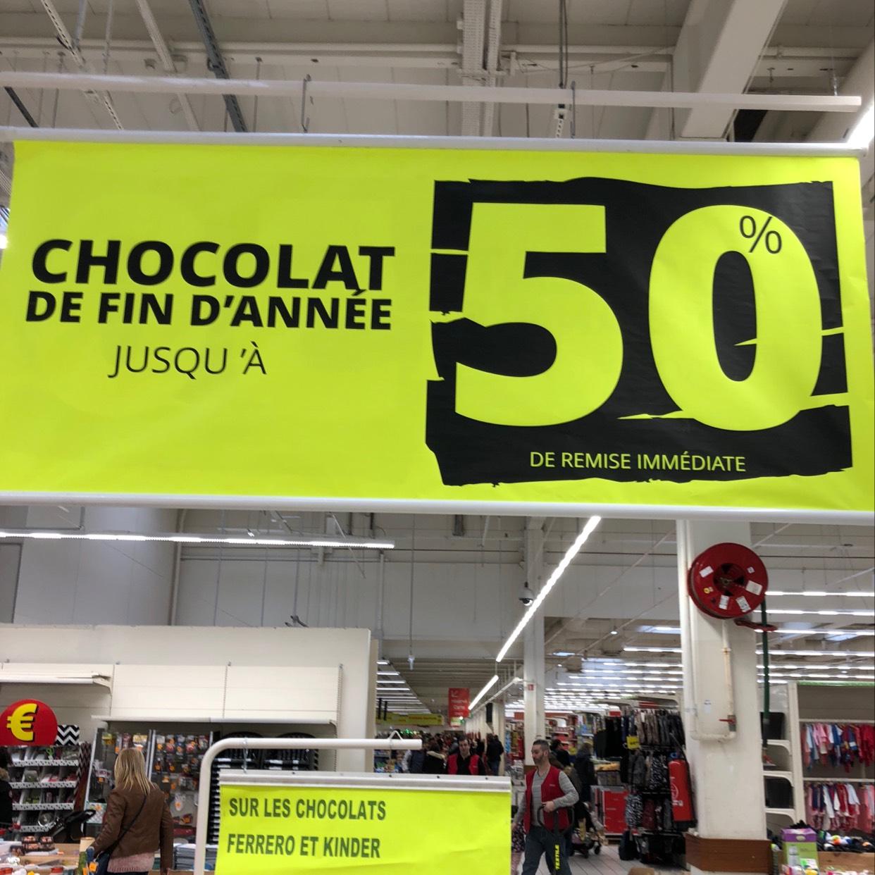 50% de réduction sur une sélection de chocolats - Brétigny-sur-Orge (91)