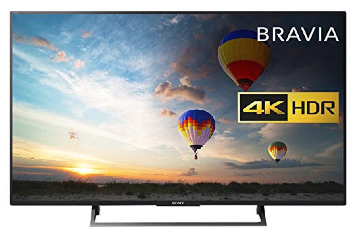 """[Prime] TV Sony 49"""" KD49XE8004 (2017) - UHD 4K"""
