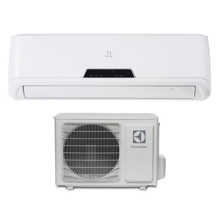 climatisateur r versible electrolux avec pompe chaleur. Black Bedroom Furniture Sets. Home Design Ideas