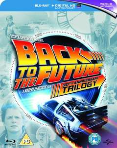 Blu-ray : Retour vers le futur la trilogie (VO)