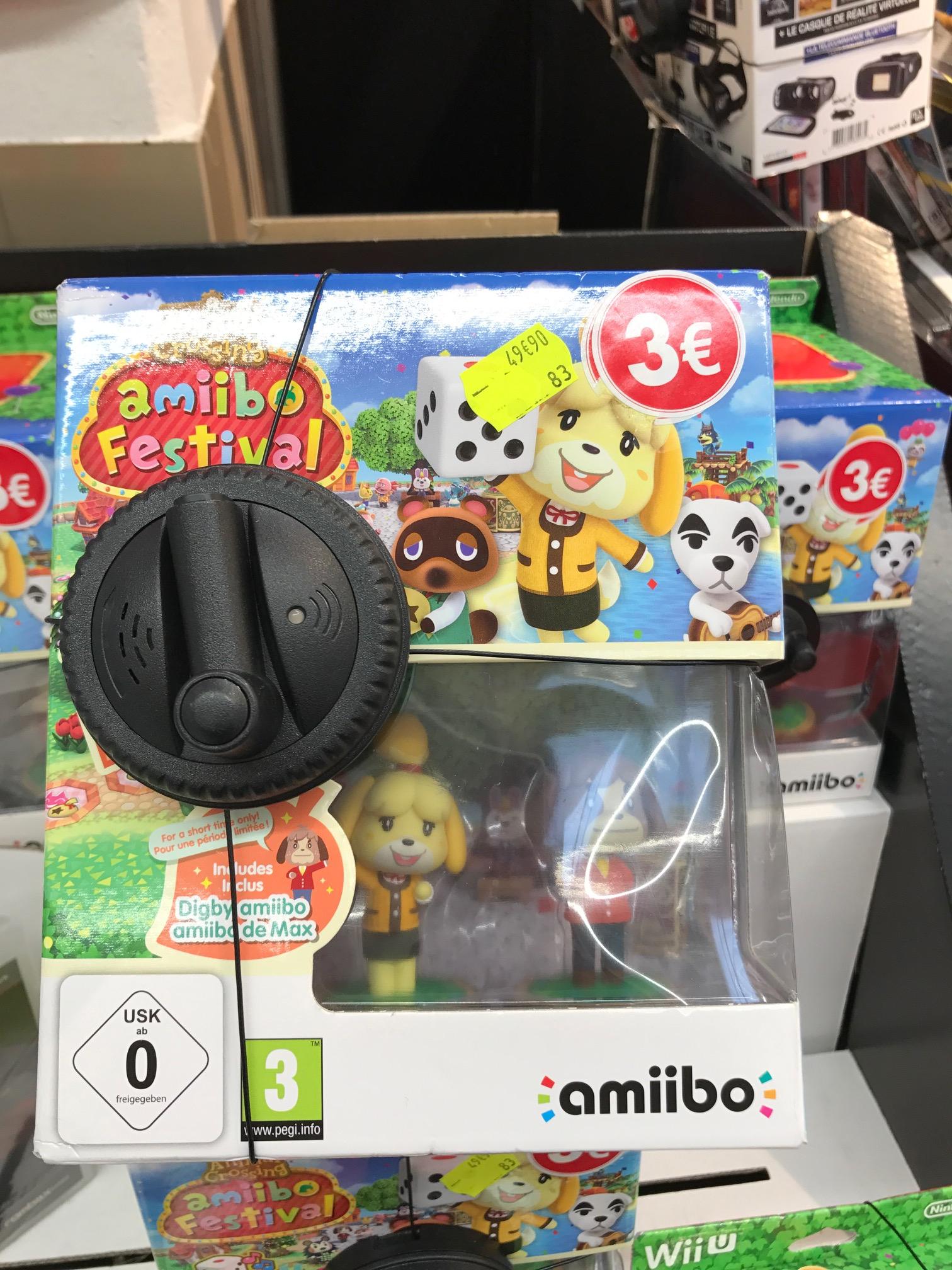 Jeu Animal Crossing : Amiibo Festival sur Wii U - Carrefour Villeneuve la Garenne (92)