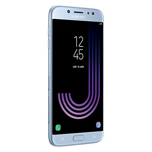 "Smartphone 5.5"" Samsung Galaxy J7 2017 - 16 Go, Argent"