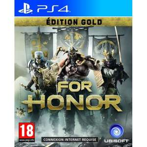 For Honor Edition Gold sur PS4