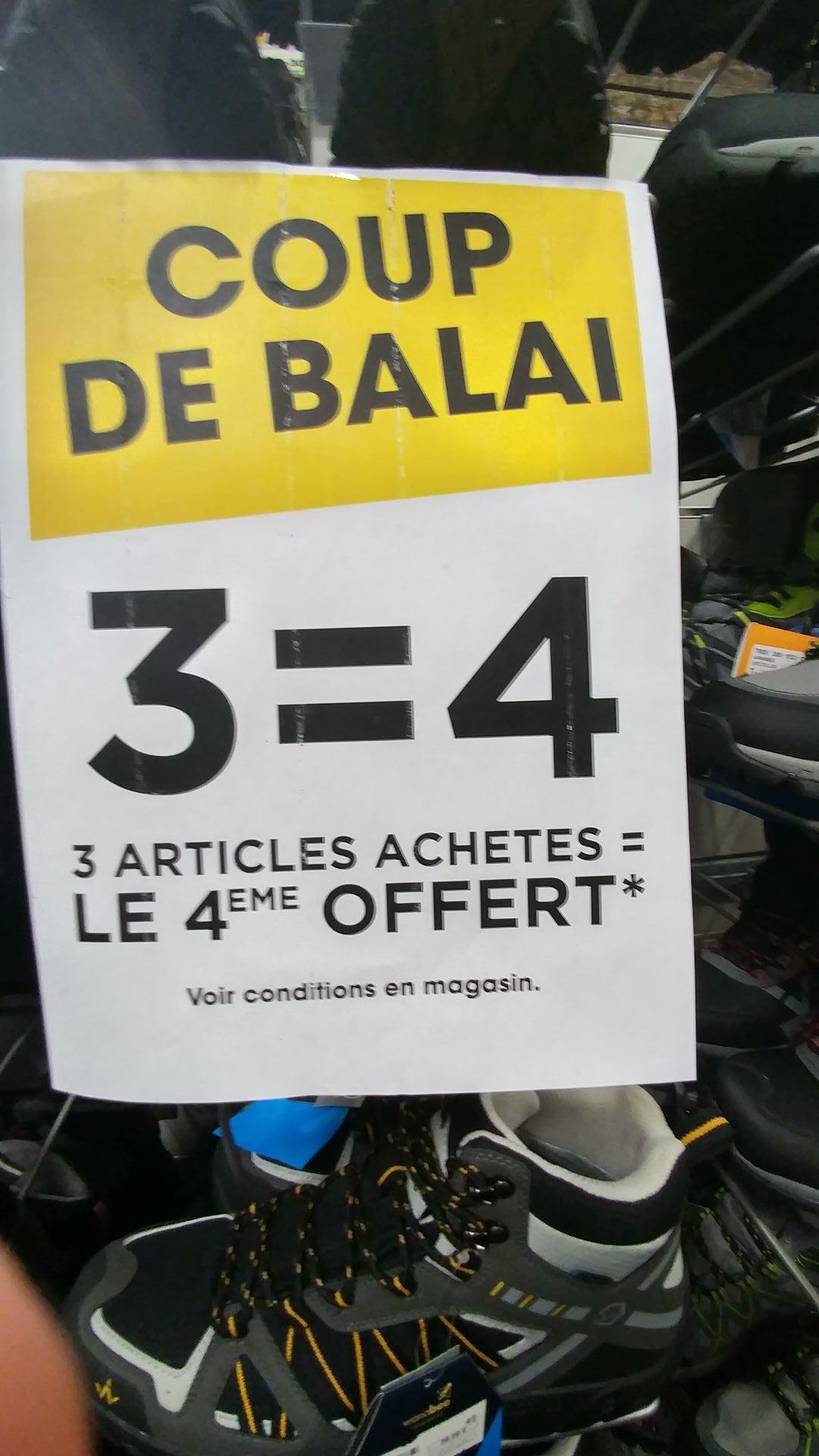 Jusqu'à -70% sur une sélection d'articles + 1 article offert pour 3 achetés - Cap Malo (35)