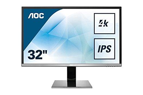 """Écran PC 31.5"""" AOC U3277PWQU - 4K UHD, 3840x2160, LCD MVA, 4 ms"""