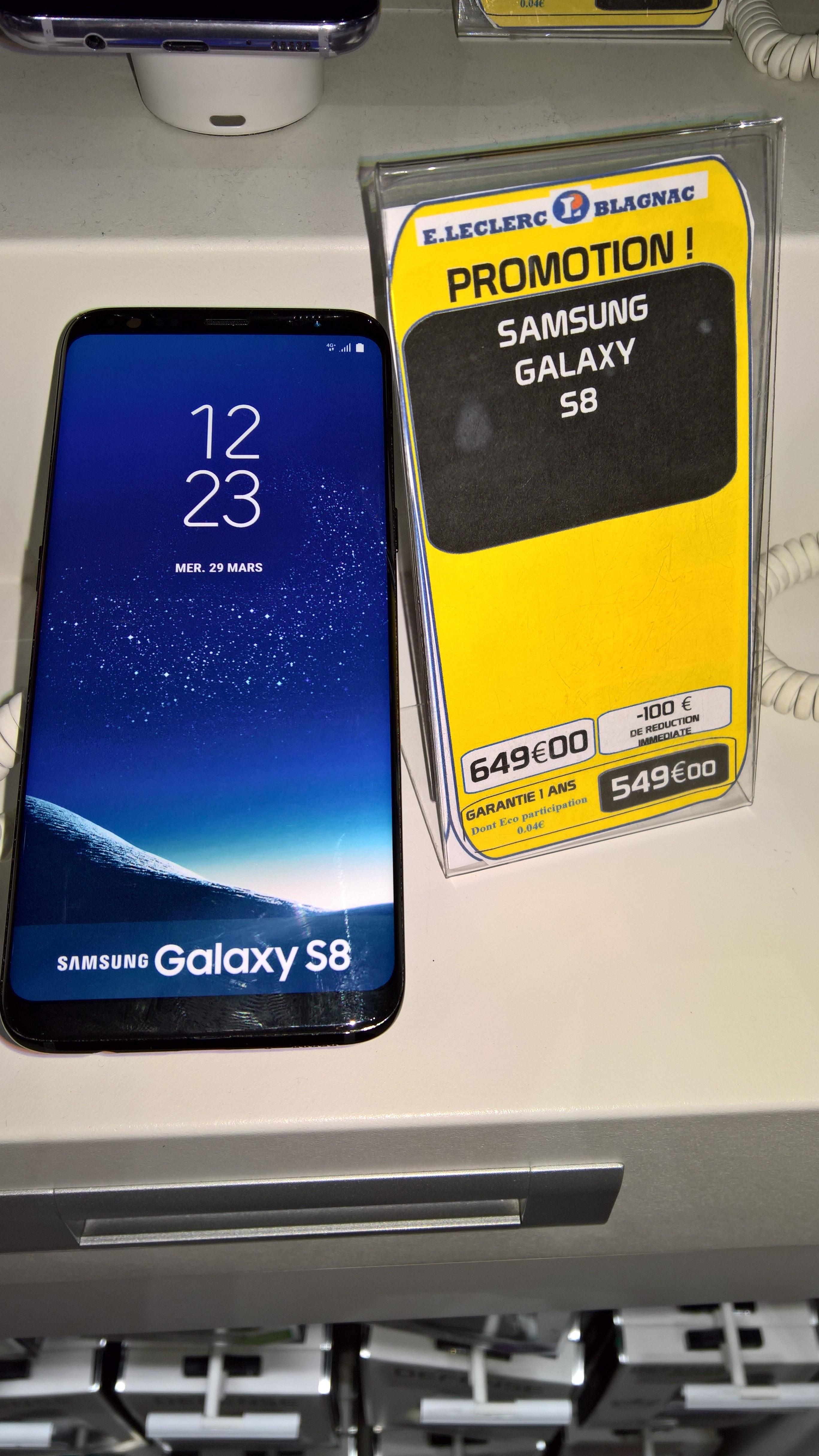 """Smartphone 5,8"""" Samsung Galaxy S8 (via ODR de 100€) - Blagnac (31)"""