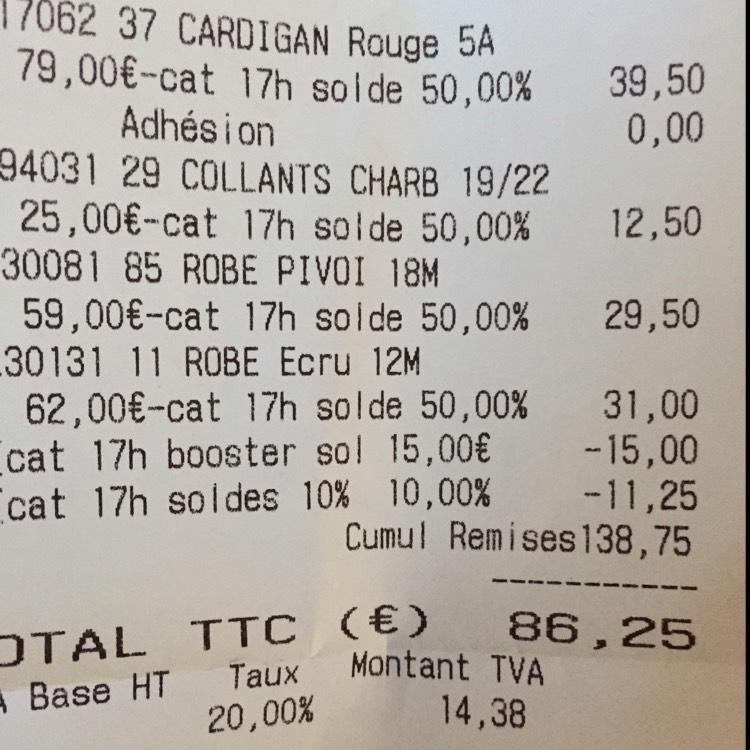 Jusqu'à -60% sur tout le magasin + 10% de réduction supplémentaire à partir de 3 articles achetés + 15€ réduction dès 100€ d'achats (Nîmes - 30)