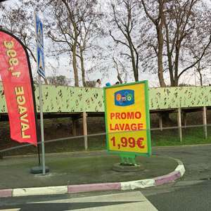 Lavage auto - Imo Car Wash O'Parinor Aulnay-sous-Bois (93)