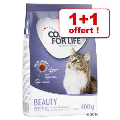 2 paquets de croquettes Concept for Life (400g)