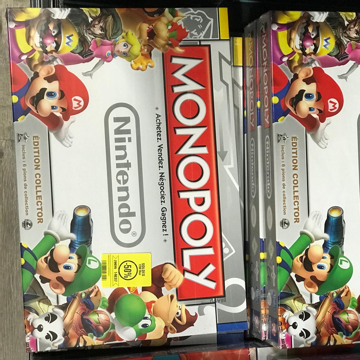 Jeu de société Monopoly Nintendo - Edition Collector (Buc - 78)