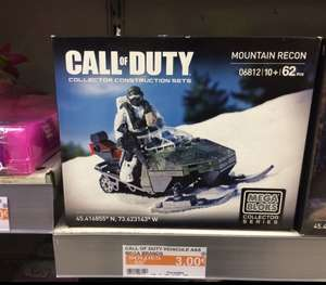 Promotion sur les sets Mega block Collector Series Call of Duty - Ex: Mountain Recon  (Châteaudun - 28)