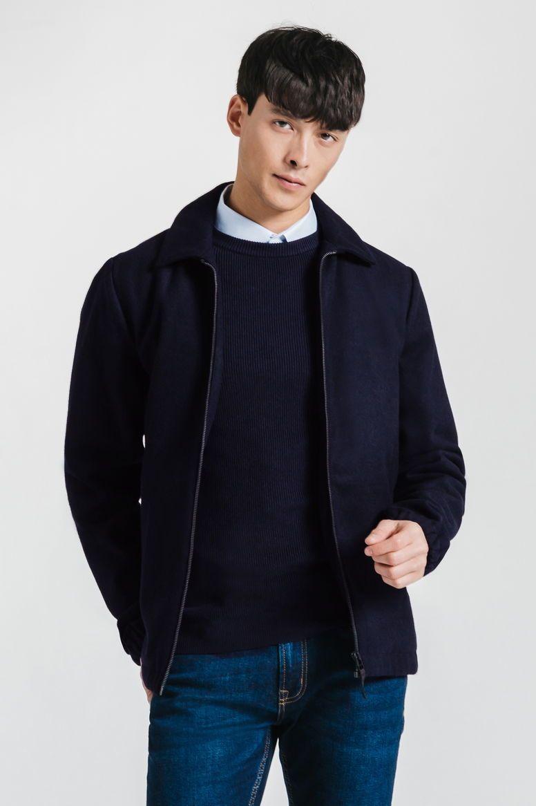 Blouson en laine - Tailles S et M