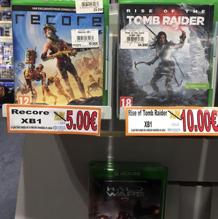 Jeu Recore sur Xbox One - Hauconcourt (57)