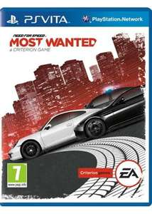 Jeu Need for speed most wanted  sur PS Vita