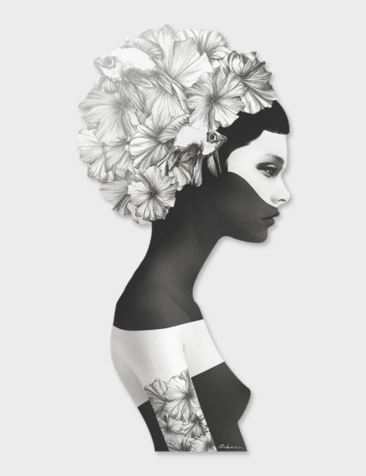 15% de réduction + Livraison gratuite sur tout le site - Ex : Affiche d'art Marianna