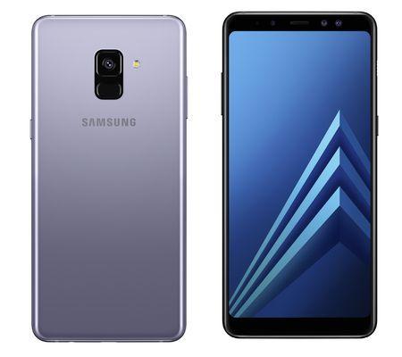 """Smartphone 5.6"""" Samsung Galaxy A8 (2018) - Exynos 7885, 4 Go Ram, 32 Go"""