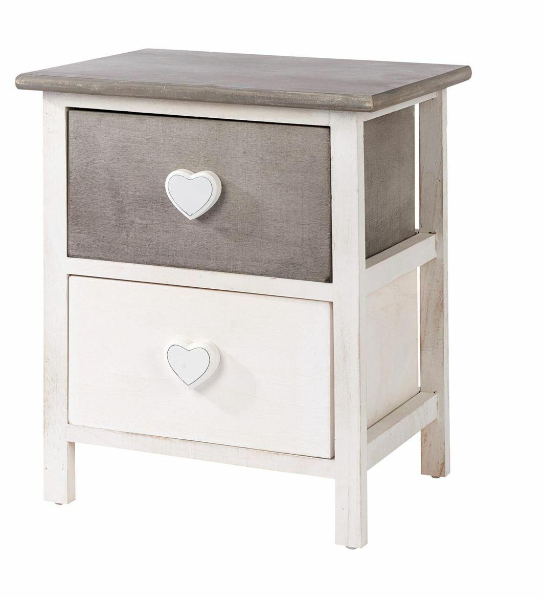Armoire 2 tiroirs Amour