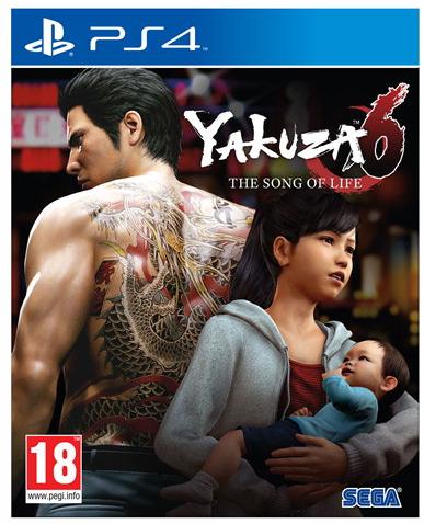 Yakuza 6 sur PS4