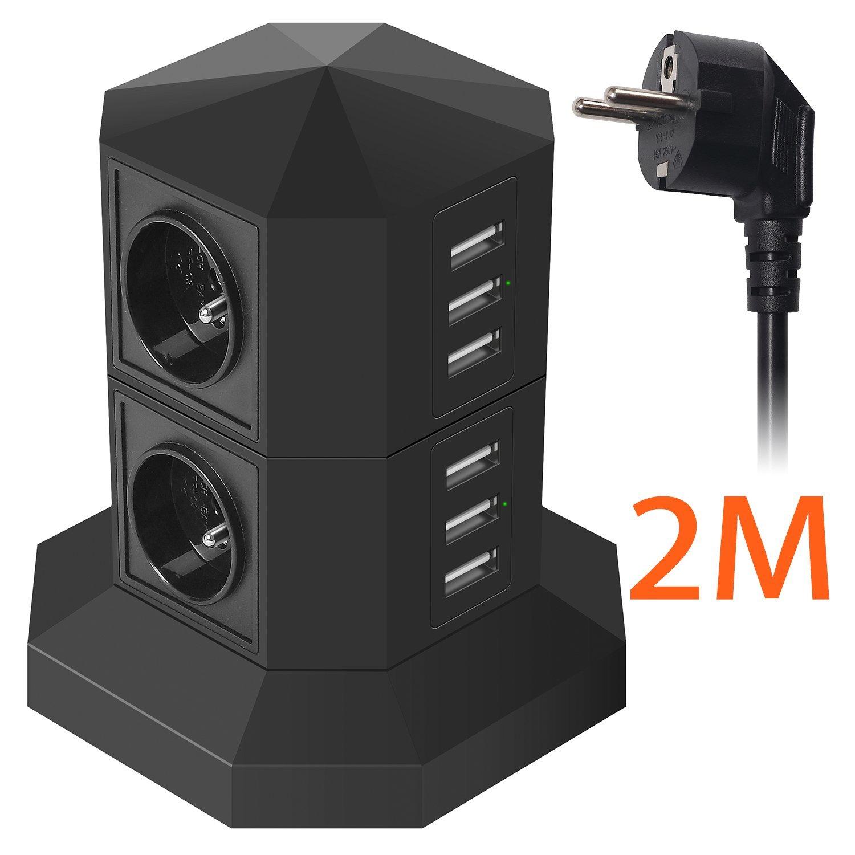 Bloc Prise Parafoudre/Parasurtenseur Jzbrain - ports USB (vendeur tiers)
