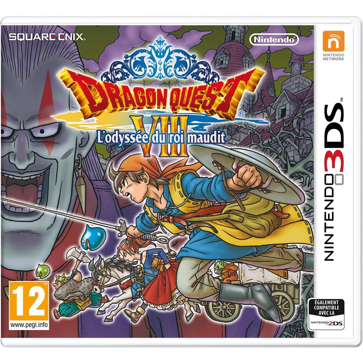 Dragon Quest VIII - L'odyssée Du Roi Maudit - 3DS