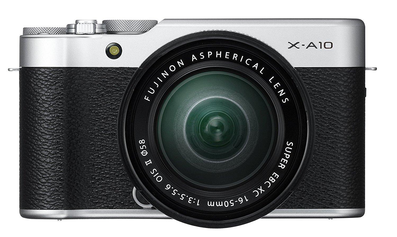Appareil Photo Fujifilm X-A10 avec Objectif XC16-50mm - 16,3Mpix Argent