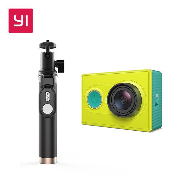 Caméra sportive Xiaomi Yi Jaune / Bleue + Perche à selfie