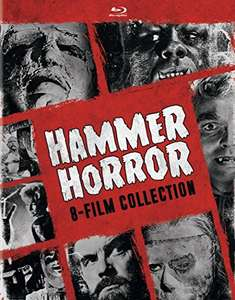 Coffret Bluray Hammer Horror 8-Film Collection (en Anglais)