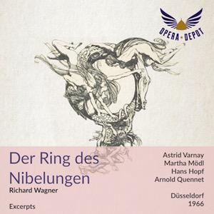 Wagner à télécharger : Der Ring des Nibelungen (extraits)  (Dématérialisé, Opera Depot)