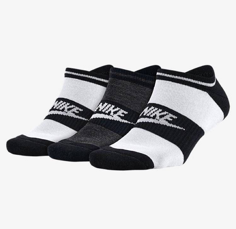 Lot de 3 paires de chaussettes basse Nike