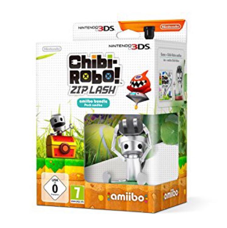 Chibi-Robo Zip Lash + Amiibo sur Nintendo 3DS - Forum des Halles (75)