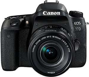 Kit Canon EOS 77D + EF-S 18-55mm F/4-5.6 STM