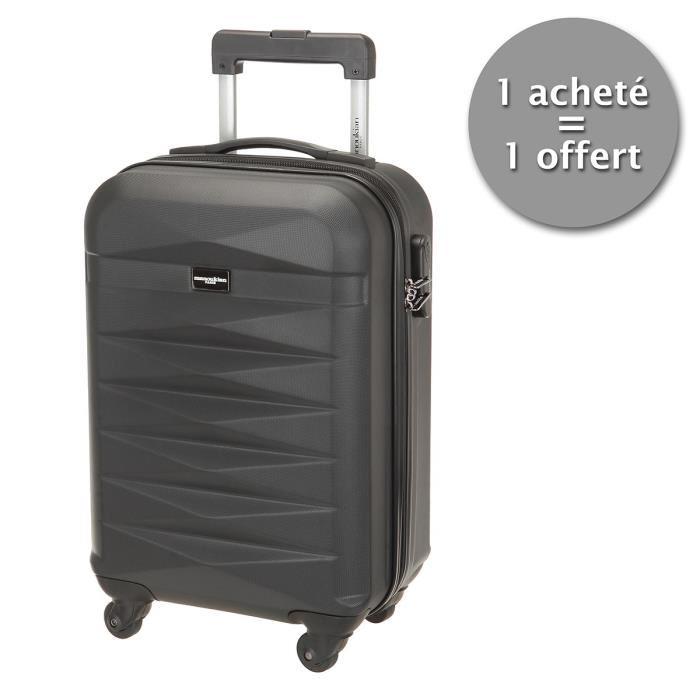 Set de 2 valises cabine Manoukian ABS 48cm, 4 roues