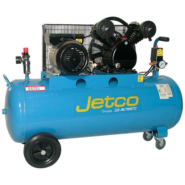 Compresseur Lacme Jetco 100 litres, 3cv, 8 bars