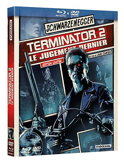 Combo Blu-Ray + DVD Terminator 2 : Le jugement dernier - Édition Limitée