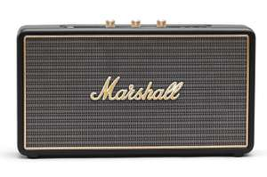 Enceinte sans-fil Marshall Stockwell - Bluetooth, 25W RMS, Noire