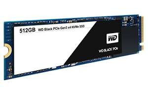 SSD interne M.2 NVMe Western Digital WD Black (TLC) - 512 Go